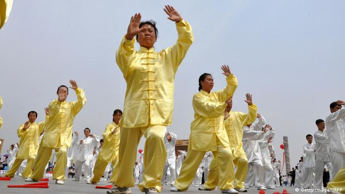 China Taiji (Getty Images/AFP)