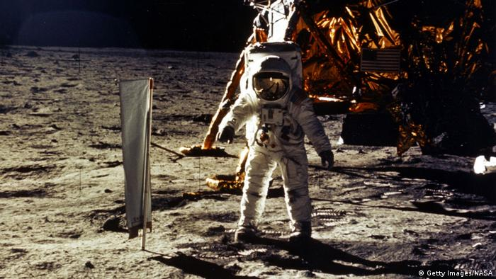 Edwin Aldrin Jr. on the moon (Getty Images/NASA)