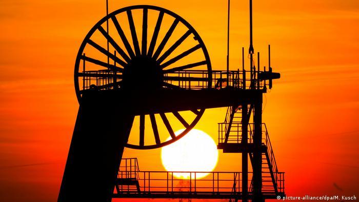 BdT mit Deutschlanbezug - Sonnenuntergang im Ruhrgebiet