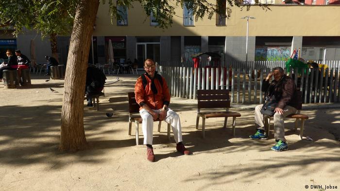 Spanien Start-up Hilfen für Obdachlose in Barcelona (DW/H. Jobse)
