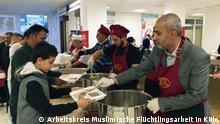Auch das ist muslimische Flüchtlingsarbeit: Gemeinsames Fastenbrechen in der Ditib-Gemeinde Köln