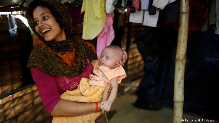 Bangladesch Flüchtlinge aus der Volksgruppe der Rohingya (Reuters/M. P. Hossain)