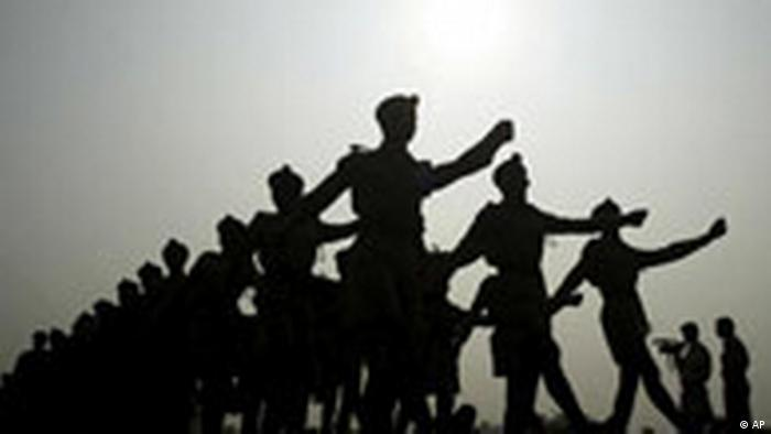 National Cadet Corps in Indien (AP)
