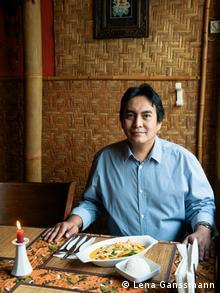 Christian Adelius in his restaurant (Photo: Lena Ganssmann)