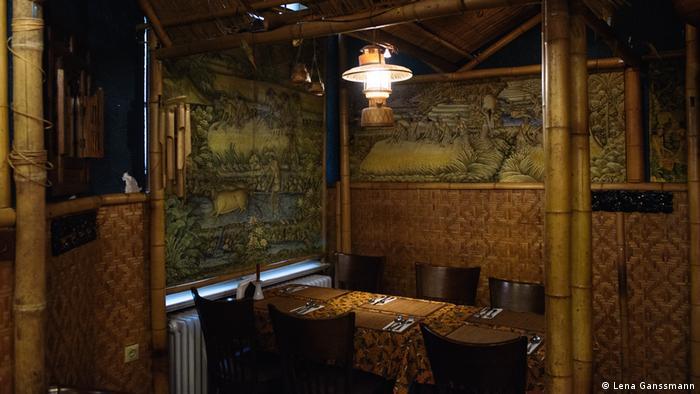 Inside Tuk Tuk restaurant in Berlin (Photo: Lena Ganssmann)