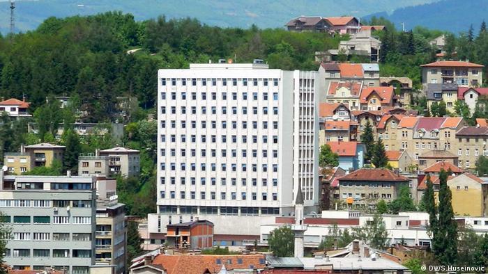 "Krankenhaus ""Abdulah Nakas"" in Sarajevo"