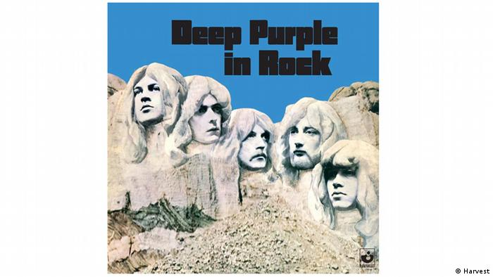 Deep Purple in Rock album cover (Harvest)
