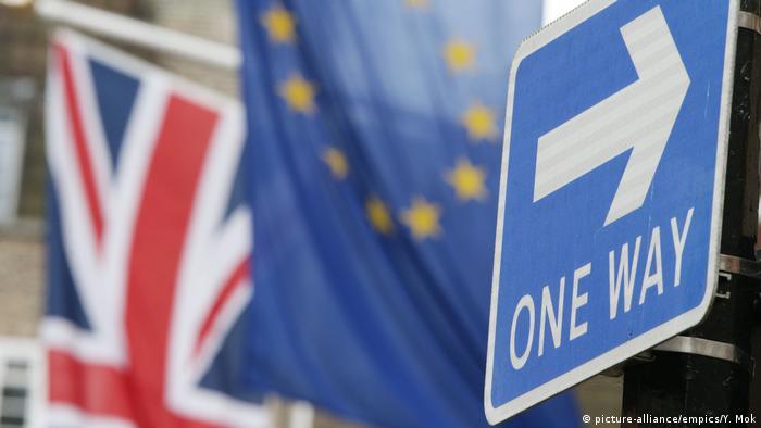 Großbritannien Brexit Symbolbild (picture-alliance/empics/Y. Mok)