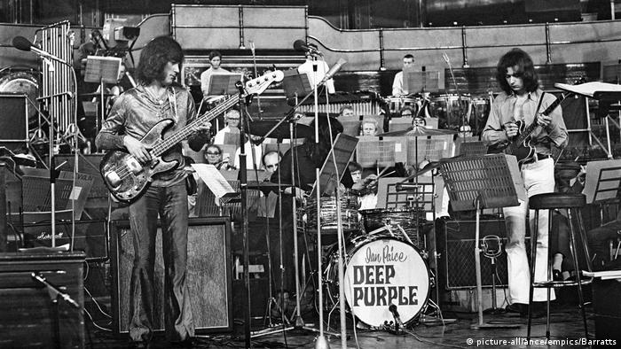 UK Deep Purple - Royal Albert Hall - 1969 (picture-alliance/empics/Barratts)