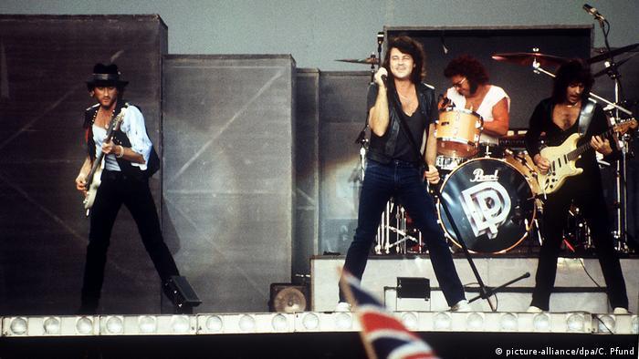 Deutschland Deep Purple in Mannheim (picture-alliance/dpa/C. Pfund)