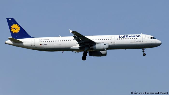 Lufthansa Airbus A321-100 (picture alliance/dpa/P.Mayall)