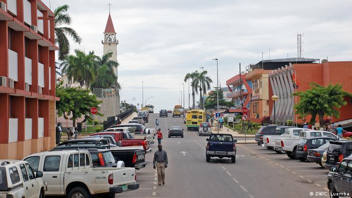 Angola Stadt Cabinda
