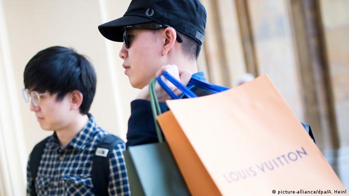 Китайски туристи в Мюнхен