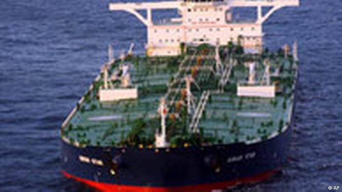 Supertanker von Piraten entführt (AP)