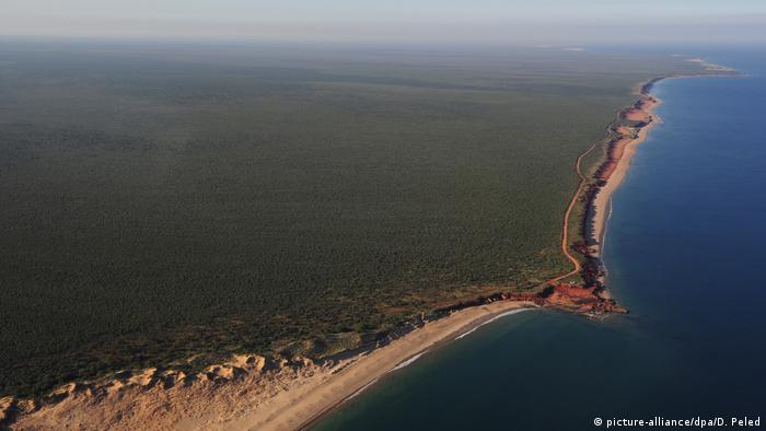 Australien James Price Point Landspitze bei Broome (picture-alliance/dpa/D. Peled)