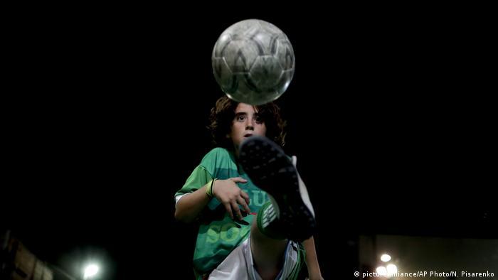 Argentinien Fußball Akademie in Buenos Aires (picture-alliance/AP Photo/N. Pisarenko)