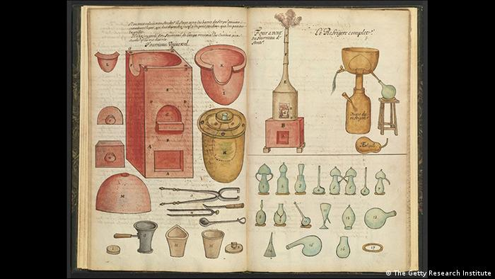 Exhibition Art and Alchemy in Berlin's Culture Forum (The Getty Research Institute)