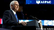 USA AIPAC-Treffen in Washington - Mike Pence