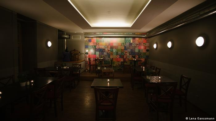 Inside Pan Africa restaurant (Photo: Lena Ganssmann)