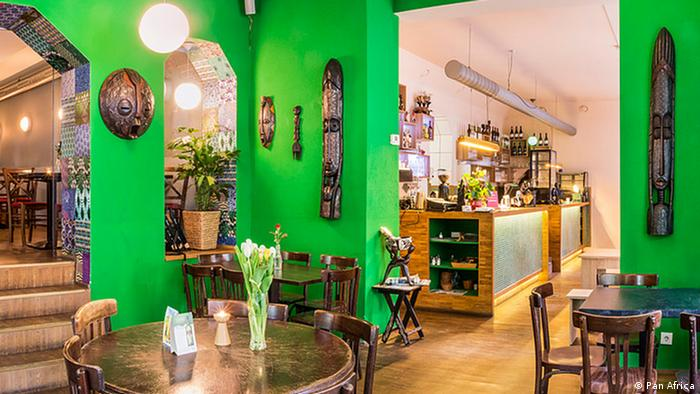 Inside Pan Africa restaurant in Berlin (Photo: Pan Africa)