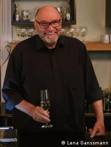 Luc Wolff, Leiter des luxemburgischen Restaurants de Maufel in Berlin (Foto: Lena Ganssmann)