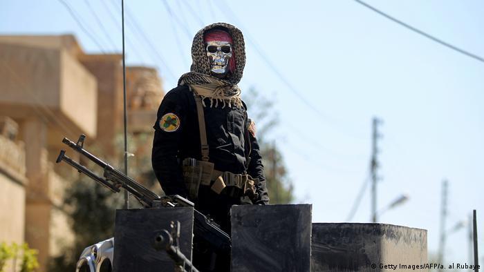 Irak Armee Soldat Symbolbild Krieg Gewalt Tod (Getty Images/AFP/a. al Rubaye)
