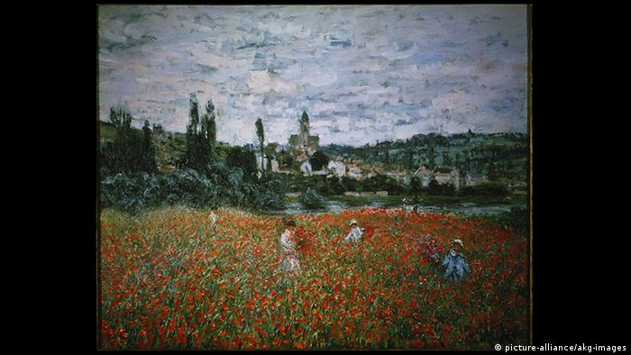 Frace Claude Monet, Poppy Field Near Vétheuil (picture-alliance/akg-images)