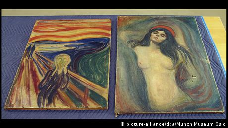 Norway Munch's The Scream and Madonna (picture-alliance/dpa/Munch Museum Oslo)