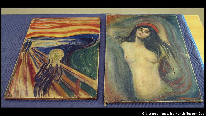 O grito e Madonna, de Edvard Munch
