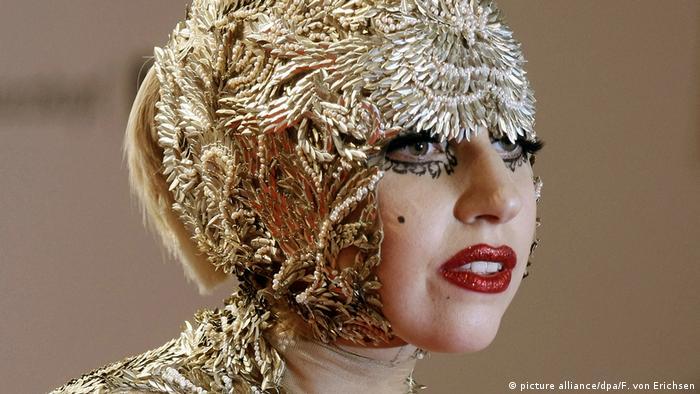 Lady Gaga Bambi (picture alliance/dpa/F. von Erichsen)