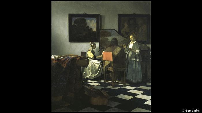 Johannes Vermeer, Konzert (Gemeinfrei)