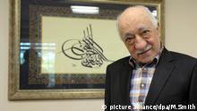 Turkish preacher Fethullah Gülen speaks to members of the media from his home Sept. 22, 2016, at the Golden Generation Worship and Retreat Center in Saylorsburg, Pennsylvania, USA. Photo Matt Smith/dpa | Verwendung weltweit