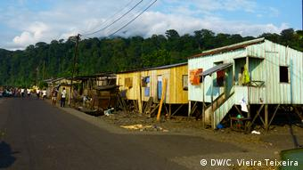 Sao Tome und Principe Fischerdorf Santa Catarina