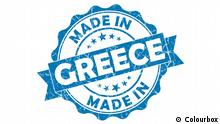 Label Made in Greece