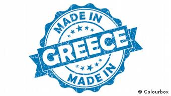 Label Made in Greece (Colourbox)