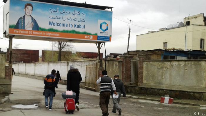 Afghanistan aus Deutschland angeschobene Flüchtlinge in Kabul