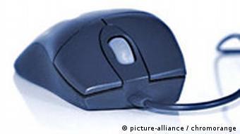 Computermaus mit Scrollrad
