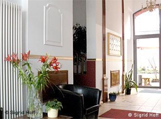 Der Eingangsbereich im Berliner Obdachlosenheim Haus Schöneweide (Foto:Sigrid Hoff)