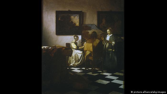 Ölgemälde Das Konzert von Jan Vermeer (picture-alliance/akg-images)