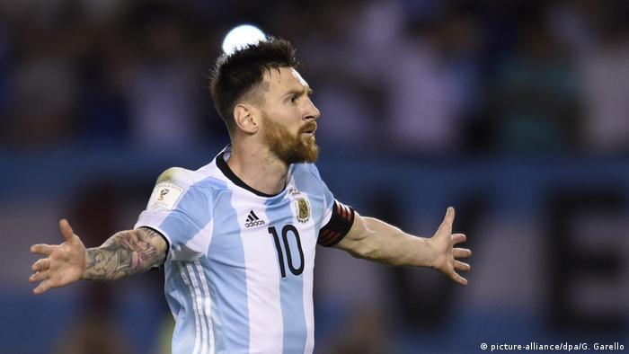 WM Qualifikation Argentinien - Chile Lionel Messi (picture-alliance/dpa/G. Garello)