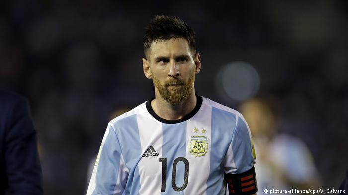 WM Qualifikation Argentinien - Chile Lionel Messi (picture-alliance/dpa/V. Caivano)