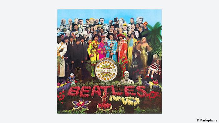CD Cover Sgt. Pepper's Lonely Hearts Club Band von den Beatles (Parlophone)