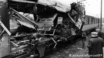Vagón del tren Le Capitole, de París a Toulouse, que sufrió un atentado con bomba en Ambazac, el 29 de marzo de 1982, del que se responsabiliza al venezolano Ilich Ramírez.