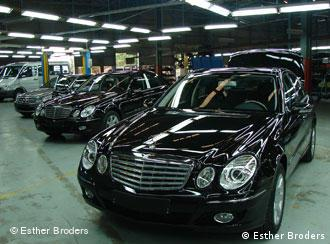 Producing dream Mercedes cars in Vietnam