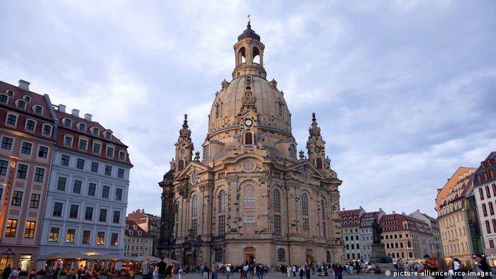 The Frauenkirche church in Dresden (picture-alliance/Arco Images)
