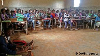 Mosambik Schule in Chimoio