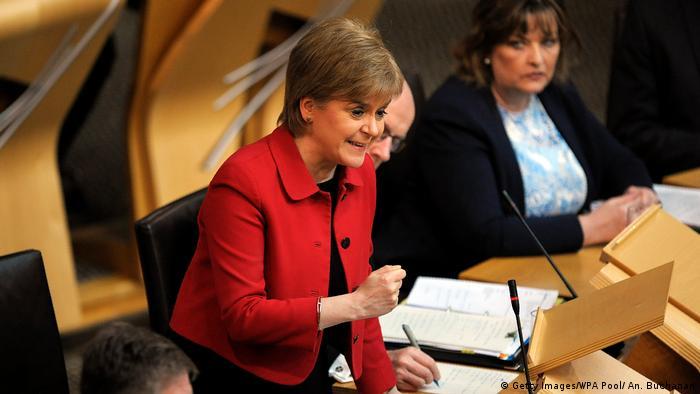 Schottland | Parlament stimmt für neues Unabhängigkeitsreferendum
