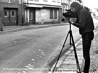 Siegbert Schefke films in 1980