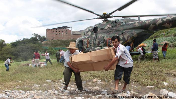 El Niño: Tote bei Überflutungen in Peru