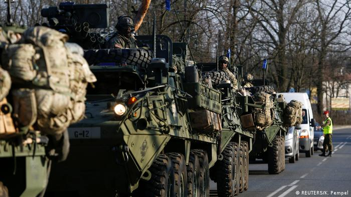US NATO troops in Poland